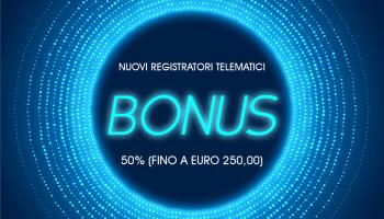 Scontrino elettronico: bonus per i nuovi registratori telematici
